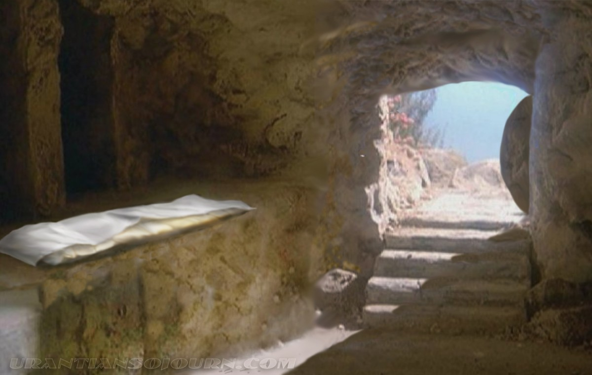 Image result for images of Christ's empty tomb