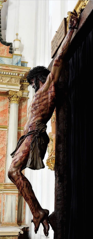 Crucifixion horrific Juan Manuel Minarro