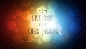 Live is Christ