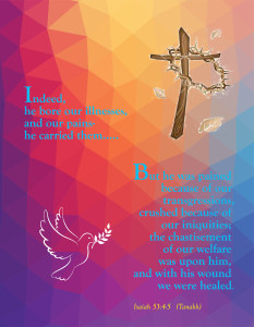 Healing 1 Postcard Front