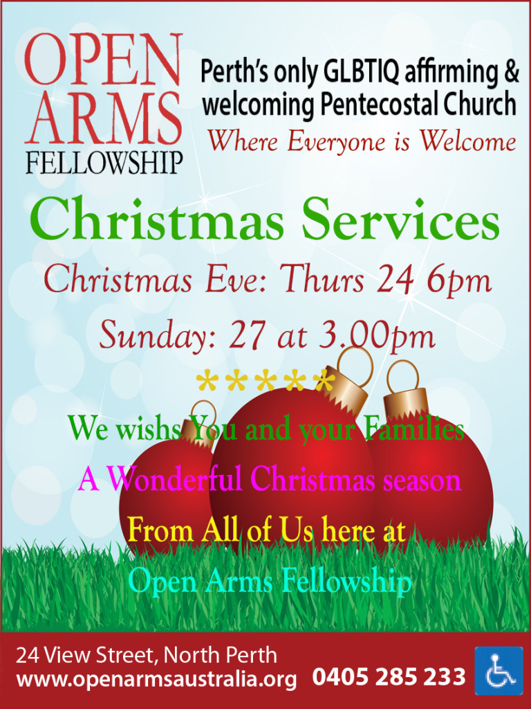 Open Arm Fellowship Christmas 2015 10x2